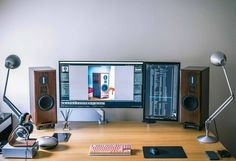 Great setup for listening to music whilst doing something productive! Source: Reddit - /u/ninjapirate9901