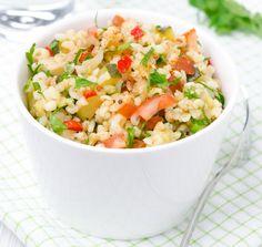 pranzo-vegetariano-bulgur-olio-verdure-facile