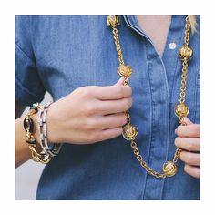 Lulu Frost | Vintage Chanel Necklace