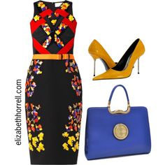 A fashion look from October 2014 featuring Peter Pilotto dresses and Paolo Shoes pumps. Browse and shop related looks.