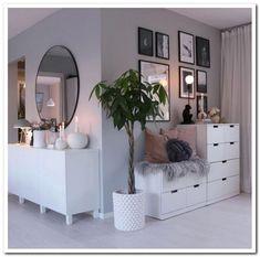 61 minimalist bedrooms ideas with cheap furniture 29 61 minimalist bedroom ideas with cheap furniture 28 Interior Design Living Room, Living Room Designs, Living Room Decor, Bedroom Decor, Bedroom Furniture, Bedroom Plants, Bedroom Dressers, Ikea Bedroom, Master Bedroom