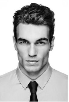 Curly Men's  Hair, & one hell of a jaw!