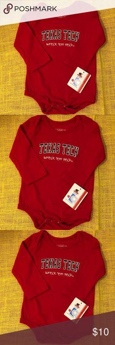 I just added this listing on Poshmark: Texas Tech logo onesie 6- 12 months. #shopmycloset #poshmark #fashion #shopping #style #forsale #Other