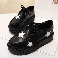 Pentagram sweet casual shoes