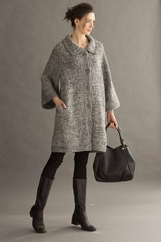 Ravelry: #11 Cocoon Coat pattern by Deborah Newton