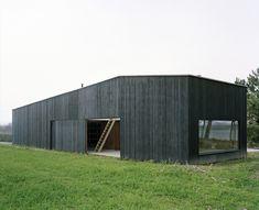 Hangar ostréicole et lieu de repos, Raum archi