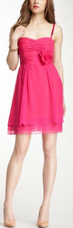 Nanette Lepore Tap-Tap Silk Dress