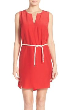 Amanda Uprichard 'Antigua' Silk Shift Dress available at #Nordstrom