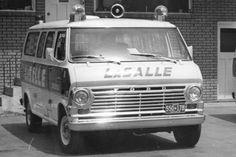 Ford van ambulance