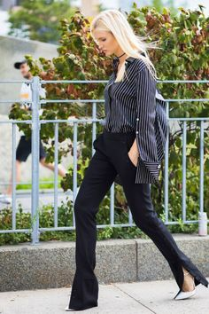 Take inspiration from street style with these all-black work outfits that will have you looking like the best dressed person in the office.
