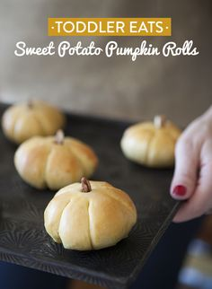 Sweet Potato Pumpkin Rolls-    The Thanksgiving Fortune Cookie- bake something that you are thankful for!