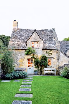 Dream House Small English Cottage Exterior Cottages French Garden