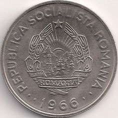 Motivseite: Münze-Europa-Südosteuropa-Rumänien-Leu-1.00-1966