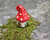 Tiny gnome home. Made by Little glass houses on Etsy.