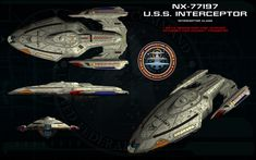These are the warp fighters the U.S.S. Calamity deployed in the Star Trek: Theurgy story. The 3D model was a commissioning by Pinarci here on DeviantArt (pinarci.deviantart.com/) via his Fiverr acc...