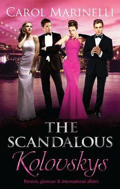 Mills & Boon : The Scandalous: Kolovskys/Knight On The Children's Ward/The Last Kolovsky Playboy/The Devil Wears Kolovsky eBook: Carol Marin...