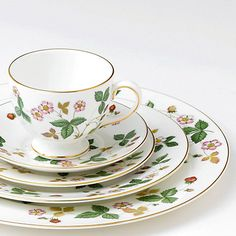 Buy Wedgwood Wild Strawberry Side Plate Online at johnlewis.com