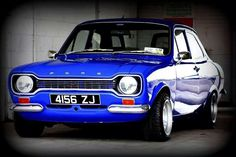 Ford Escort - hired one of these for my final degree assessment in the car park of Maidstone College of Art