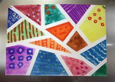 Ak sa počas prázdnin vaše deti nudia, skúste sa spolu zabaviť veselým maľovaním.Potrebujeme:Výkres, papierovú pásku, vodové farby, temperové farby, štetce ...Postup:na výkres lepíme pásiky papierovej pásky, aby navzájom vytvorili nepravidelné tvary. Aby sa nám páska veľmi neprichytila na papier, môžeme ju najprv na chvíľu prilepiť na textil ....Jednotlivé časti vymaľujeme vodovými farbami, čo kúsok to originálPo vyschnutí ozdobíme jednotlivé časti rôznymi ornamentami, temperovými farbami