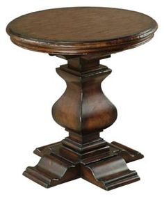 "26"" Ambella Home Aspen Round End Table 00270-900-002 #BlondyBathHome #LivingroomTables #Livingroom #Tables"