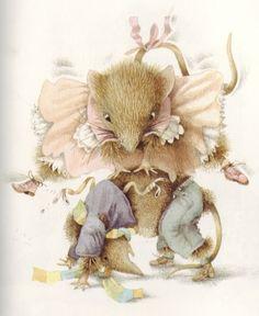 Vera la souris et Fritzi jouent à saute-mouton  de Marjolein Bastin