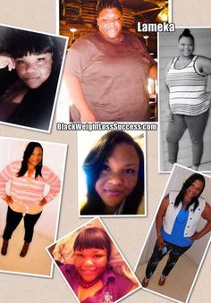 Lameka lost 106 pounds and has kept the weight off for a year.  Check out her story.