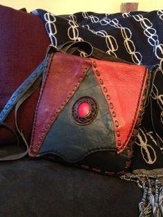 Leather Bag Pattern, Leather Belt Bag, Leather Cuffs, Leather Jewelry, Leather Purses, Leather Handbags, Leather Wallet, Handmade Purses, Handmade Handbags