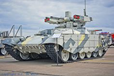 BMPT-72 Terminator 2 Tank support armoured fighting vehicle