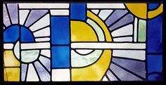 9 stained glass window