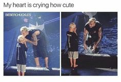 Awww q lindo 😍❤️😻! Justin Bieber Facts, All About Justin Bieber, Justin Bieber Pictures, Jackson Bieber, Teary Eyes, My Big Love, Baby Daddy, Memes, Bae