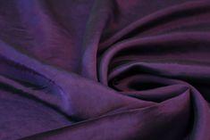 Purple Taffeta Fabric Jewel Colors, Dressmaking Fabric, Fashion Fabric, Fabrics, Purple, Things To Sell, Tejidos, Cloths, Viola