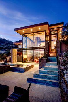 Ventana Mountain Estates-Home 502-Kevin B Howard Architects-13-1 Kindesign.