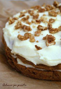 Qchnia po prostu: Ciasto marchewkowe z kremem mascarpone Ale, Food And Drink, Mascarpone, Ale Beer, Ales, Beer