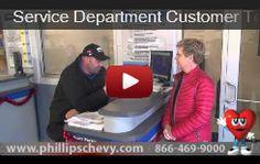 Service Testimonials - Phillips Chevrolet | Chicago Chevrolet Dealer | Frankfort, IL Matteson Tinley Park Joliet    http://www.phillipschevy.com/custom/service-testimonials/Chicago-IL-Chevrolet-Dealer