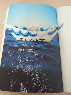 alicelovespizza: Float this page - Wreck This Journal: