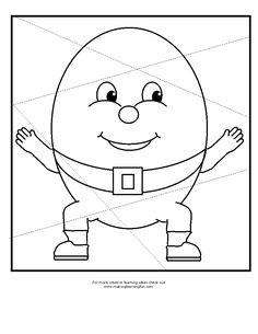 Humpty Dumpty Coloring Page Inspirational Humpty Dumpty Drawing at Getdrawings Rhyming Preschool, Rhyming Activities, Drawing Activities, Kids Learning Activities, Fun Learning, Preschool Door, Monster Coloring Pages, Truck Coloring Pages, Coloring Pages For Kids