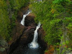 Minnesota's Devil's Kettle Falls has been puzzling hikers and geologists for generations. At the falls, along Lake Superior's north shore, a river forks at a rock outcropping. While one side tumbles down a two-step stone embankment and continues on like a normal waterfall, the other side vanishes into a deep hole and disappears — apparently forever.