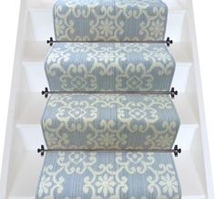 Axminster Carpets Royal Borough Decorative Chelsea Itschner Light Grey Stair…