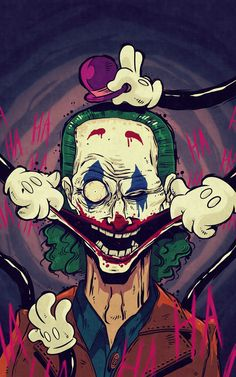 ArtStation - The Joker, Amer Kokh