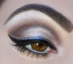 Wicked Smokey with Double Liner using BFTE Love Makeup, Makeup Tips, Makeup Looks, Hair Makeup, Awesome Makeup, Makeup Stuff, Makeup Ideas, Diy Beauty Books, Brown Eyeshadow Looks