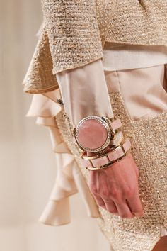 prada-milahno:  Detail at Nina Ricci Spring 2014 Ready-to-wear