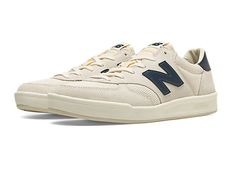 Always look like you're winning in the New Balance CRT300 men's sneaker, a court classic reinvented for everyday wear. Every detail is designed to score style points, from the premium suede/mesh construction to the expressive colors and modern REVlite cushioning that provides lightweight comfort. It's retro sport style that's ready for anything. These shoes are in men's sizing. Women should order 2 sizes down.