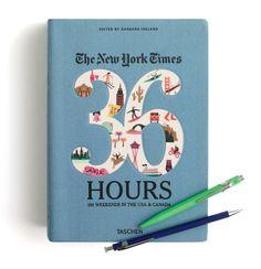 The New York Times 36 hours, Caran d'ache® pen & Delfonics® ballpoint pen at J.Crew.