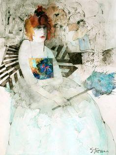 Shirley Trevena, British watercolor artist