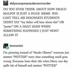 Draco Malfoy - A Meme