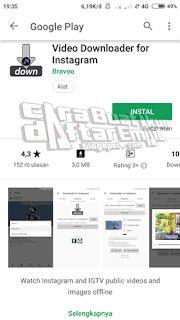 download video dari instagram tanpa aplikasi