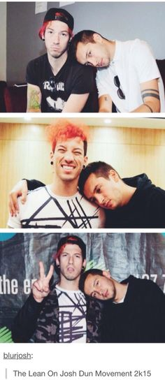 I've been leaning on Josh Dun for quite some time boo xD