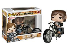 Funko Pop Rides: The Walking Dead - Chopper with Daryl Vinyl Figure