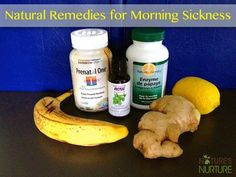 Natural Morning Sickness Remedies for Pregnancy