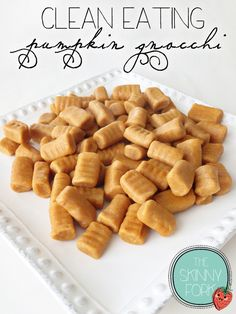 The Skinny Fork - These soft little pillows of pumpkin heaven are the perfect replacement for usual gnocchi, making any dish even more fall-friendly! Only 220 calories!